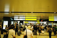 Sendai Station (しまむー) Tags: pentax mz3 smc a 28mm f28 kodak gold 200 北海道&東日本パス 普通列車 local train trip east japan 東北本線 縦断