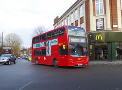 GAL E244 - YX61DPY - ELTHAM CHURCH - SAT 16TH NOV 2019 (Bexleybus) Tags: eltham high street shopping centre church well hall road court hill se9 goahead go ahead london central tfl route adl dennis enviro e244 yx61dpy 132