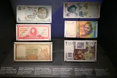 Billets de banque à l'effigie de célébrités (Mhln) Tags: hôtel gaillard banque france cité économie citéco paris musée expo banquedefrance renaissance style