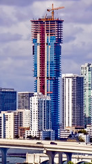 Elysee, 788 NE 23rd Street, Miami, Florida, USA / Completed: 2019 / Height: 196.3 m / 644 ft /  Floors Above Ground: 57 / Architect: Arquitectonica / Main Contractor: John Moriarty & Associates of Florida, Inc. (Photographer South Florida) Tags: elysee 788ne23rdstreet miami florida usa completed2019 height1963m 644ft floorsaboveground57 arquitectonica johnmoriartyassociatesoffloridainc miamibeach miamigardens northmiamibeach northmiami miamishores cityscape city urban downtown density skyline skyscraper building highrise architecture centralbusinessdistrict miamidadecounty southflorida biscaynebay cosmopolitan metropolis metropolitan metro commercialproperty sunshinestate realestate tallbuilding midtownmiami commercialdistrict commercialoffice wynwoodedgewater residentialcondominium dodgeisland brickellkey southbeach portmiami sobe brickellfinancialdistrict keybiscayne artdeco museumpark brickell historicalsite miamiriver brickellavenuebridge midtown sunnyislesbeach moonovermiami mimo magiccity southbeachpier starisland bluegreendiamond