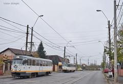Tatra T4R - 3359 + 3322 - 17.11.2019 (VictorSZi) Tags: romania transport tram tramvai tatra tatrat4r autumn toamna nikon nikond5300 militari noiembrie november stb
