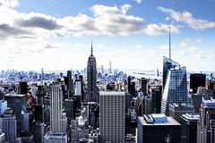 View From Top of the Rock (NYC) #2 (WilliamND4) Tags: topoftherock sliderssunday nyc newyorkcity city skyline nikon d750