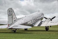 Douglas DC-3A-S1C3G - 08 (NickJ 1972) Tags: daksovernormandy caen carpiquet airport 2019 aviation douglas dc3 c47 dakota skytrain n24320 4315731 missmontana