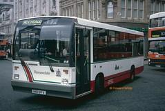 Rossendale 101 (H101 VFV) (SelmerOrSelnec) Tags: rossendale dennis dart duple h101vfv manchester piccadilly bus