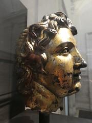 Italy - Rome - Palazzo Massimo - Bust of Alexander the Great (JulesFoto) Tags: italy rome roma nationalromanmuseum palazzomassimo bust head alexanderthegreat