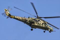 Mil Mi-35M - 06 (NickJ 1972) Tags: maks zhukovsky airshow 2019 aviation mil mi24 mi35 hind 341 2302 yellow
