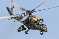 Mil Mi-35M - 20 (NickJ 1972) Tags: maks zhukovsky airshow 2019 aviation mil mi24 mi35 hind 341 2302 yellow