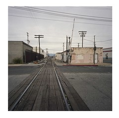 Vernon (ADMurr) Tags: la vernon eastside rr vanishing point hasselblad swc zeiss 38mm biogon kodak ektar dba333