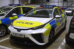 YJ67 UHP (S11 AUN) Tags: london metropolitan police toyota mirai hydrogen incident response vehicle irv panda patrol car areacar unit 999 emergency metpolice yj67uhp