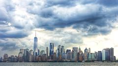 New York Skyline  2019 (dirklie65) Tags: ny new york skyline wolken clouds cloudy dramatisch dramatic skyscrapers hochhäuser city manhattan