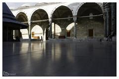 reflection (alamond) Tags: canon 7d markii mkii llens ef 1740 f4 l usm alamond brane zalar mosque fatihmosque fatih istanbul turkey architecture courtyard reflection marble inyard