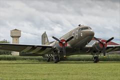 Douglas C-47A Skytrain - 23 (NickJ 1972) Tags: daksovernormandy caen carpiquet airport 2019 aviation douglas dc3 c47 dakota skytrain n147dc 42100884 s6a
