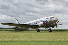 Douglas DC-3C - 26 (NickJ 1972) Tags: daksovernormandy caen carpiquet airport 2019 aviation douglas dc3 c47 dakota skytrain secfp 4330732 fridtjofviking
