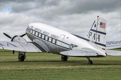 Douglas DC-3C - 28 (NickJ 1972) Tags: daksovernormandy caen carpiquet airport 2019 aviation douglas dc3 c47 dakota skytrain n33611 451108 tabithamay pan am