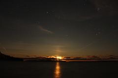join us (~Jim Peacock~) Tags: night nightsky luna moon moonlight stars autumn nature lakesuperior aposteislands wisconsin bayfield