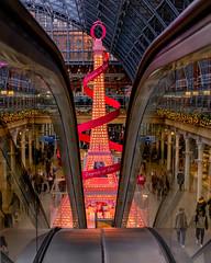 Happiness is Here (Sam Codrington) Tags: trainstation christmas xmas kingscross lancome london eiffeltower stpancras england unitedkingdom