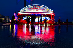 The Mighty Waltzer (nickcoates74) Tags: liverpool night afterdark sony a6300 ilce6300 1650mm sel1650 epz1650mmf3556oss affinityphoto merseyside fairground waltzer ride pierhead