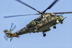 Mil Mi-35M - 21 (NickJ 1972) Tags: maks zhukovsky airshow 2019 aviation mil mi24 mi35 hind 341 2302 yellow