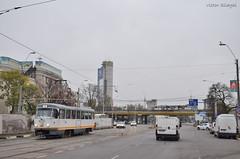 Tatra T4R - 3381 - 44 - 17.11.2019 (2) (VictorSZi) Tags: romania transport tram tramvai tatra tatrat4r autumn toamna nikon nikond5300 militari noiembrie november stb