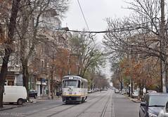 Tatra T4R - 3321 - 44 - 17.11.2019 (3) (VictorSZi) Tags: romania transport tram tramvai tatra tatrat4r autumn toamna nikon nikond5300 militari noiembrie november stb