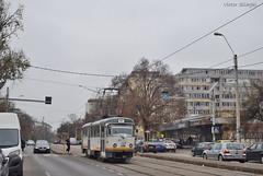 Tatra T4R - 3322 - 44 - 17.11.2019 (VictorSZi) Tags: romania transport tram tramvai tatra tatrat4r autumn toamna nikon nikond5300 militari noiembrie november stb