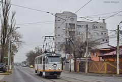 Tatra T4R - 3359 - 44 - 17.11.2019 (VictorSZi) Tags: romania transport tram tramvai tatra tatrat4r autumn toamna nikon nikond5300 militari noiembrie november stb