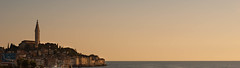 Rovinj sunset (denes.gyuro) Tags: panorama sunset croatia house temple gold sea landscape photo photography dslr sony