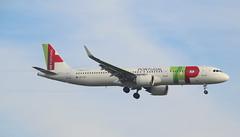 TAP Air Portugal, CS-TJK, MSN 8553, Airbus A 321-251N, 17.11.2019,  HAM-EDDH, Hamburg (Named: Eugénio Andrade) (henryk.konrad) Tags: tapairportugal cstjk msn8553 airbus a321neo neo 321251n hameddh hamburg henrykkonrad