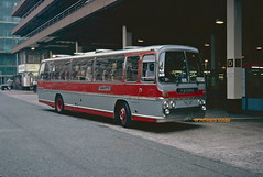 Abbott, Blackpool NFR 497M (SelmerOrSelnec) Tags: abbott blackpool aec reliance plaxton nfr497m manchester majorstreet chorltonstreetbusstation bus coach