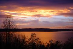 Golden Hour, West Seattle (Paddy O) Tags: vashonislandferry olympicmountains sunset pugetsound goldenhour fall seattle 2019 westseattle vashonisland velvia