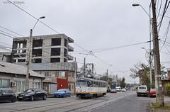 Tatra T4R - 3324 - 44 - 17.11.2019 (2) (VictorSZi) Tags: romania transport tram tramvai tatra tatrat4r autumn toamna nikon nikond5300 militari noiembrie november stb