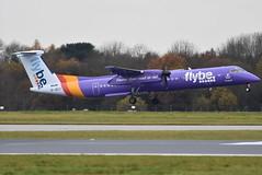 G-JECY (Ian Macadam) Tags: manchester international ringway man egcc 17th november 2019 17112019 flybe gjecy de havilland canada dhc8402