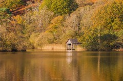 That Boathouse!  - R Y D A L   L A K E (Twogiantscoops) Tags: cpfilter thelakes countryside rydal remoteboathouse iplymouth moment lee photoshop creative nature northlakes countryfile filters cableremote canon painterly rydalwater autumness landscape leefoundationkit leefilters 5dmk2 rydallake cumbria thenorth sundown sunset intervalometer manfrotto 100400mm lakedistrict lakes circularpolariser autumnal chrismarshall'simages autumn twogiantscoops ndfilter reflections rydalboathouse creativity light megacolour