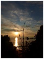 Coucher de soleil à St-Nazaire (CorcuffR) Tags: coucher soleil bord mer st saint nazaire atlantique loire