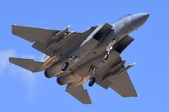 United States Air Force - McDonnell Douglas F-15C Eagle - USAF 83-0037 - Nellis Air Force Base (LSV) - July 21, 2015 1 892 RT CRP (TVL1970) Tags: nikon nikond7200 d7200 nikongp1 gp1 geotagged nikkor70300mmvr 70300mmvr aviation aircraft airplane militaryaircraft militaryaviation nellisairforcebase nellisafb nellis redflagexercise redflag redflag153 lasvegas northlasvegas nevada lsv klsv unitedstatesairforce usairforce usaf usaf830037 af830037 830037 422ndtestandevaluationsquadron 422tes boeing mcdonnelldouglas mcdonnelldouglasf15eagle boeingf15eagle f15eagle mcdonnelldouglasf15 boeingf15 f15 eagle mcdonnelldouglasf15ceagle boeingf15ceagle mcdonnelldouglasf15c boeingf15c f15ceagle f15c prattwhitney pw prattwhitneyf100 f100 pwf100 prattwhitneyf100pw220 f100pw220 airtoairmissile aim120amraam aim120 amraam
