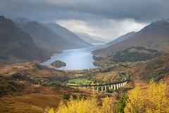 Glenfinnan, Scotland (Roman Popelar) Tags: glenfinnan viaduct loch shiel scotland united kingdom uk great britain autumn mountains bridge landscape
