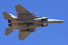 United States Air Force - McDonnell Douglas F-15C Eagle - USAF 82-0022 - Nellis Air Force Base (LSV) - July 21, 2015 1 873 RT CRP (TVL1970) Tags: nikon nikond7200 d7200 nikongp1 gp1 geotagged nikkor70300mmvr 70300mmvr aviation aircraft airplane militaryaircraft militaryaviation nellisairforcebase nellisafb nellis redflagexercise redflag redflag153 lasvegas northlasvegas nevada lsv klsv unitedstatesairforce usairforce usaf usaf820022 af820022 820022 422ndtestandevaluationsquadron 422tes boeing mcdonnelldouglas mcdonnelldouglasf15eagle boeingf15eagle f15eagle mcdonnelldouglasf15 boeingf15 f15 eagle mcdonnelldouglasf15ceagle boeingf15ceagle mcdonnelldouglasf15c boeingf15c f15ceagle f15c prattwhitney pw prattwhitneyf100 f100 pwf100 prattwhitneyf100pw220 f100pw220 airtoairmissile aim120amraam aim120 amraam anaaq33sniperadvancedtargetingpod anaaq33sniperatp anaaq33sniper anaaq33 sniperatp sniperpod aaq33