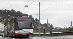 View of Salzburg (MHU823) Tags: cegelec solaris trollino salzburg trolleybus obus slb
