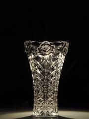 vase (Elisabeth patchwork) Tags: glass vase kristallvase kristallglas 7artisans