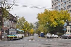 Ikarus 415 T - 5277 - 93 - 17.11.2019 (VictorSZi) Tags: romania bucharest bucuresti transport publictransport nikon nikond5300 stb november noiembrie ikarus ikarus415t trolleybus troleibuz bujoreni