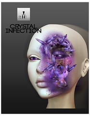 FORMME. Crystal Infection (Moonie Ghanduhar - Client List Closed) Tags: sl secondlife virtualworld virtual bom omega crystal infection golem formme elemental fantasy rp roleplay roleplaying