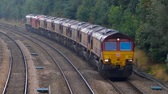 DB Cargo 66156 - Chesterfield - 0X67 (Lukas Gwynne) Tags: dbcargo db cargo schenker dbschenker 0x67 doncaster belmont down yard toton tmd tapton chesterfield midland mainline euro shed euroshed 66156 66211 66218 66225 66242 60040 dollands moor margam hartlepool tees lackenby scunthorpe 6d11 6e30 6v13 66085 66040 66142 66043 66119 66095 dbs dbc