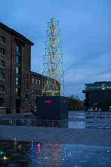 Granary Square (tommyajohansson) Tags: london kingscross granarysquare regentscanal november winter tommyajohansson geotagged