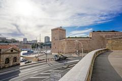 Fort Saint-Jean, Marseille, Bouches-du-Rhône, Provence, France (antonskrobotov) Tags: france provence bouchesdurhône marseille harbor fortress