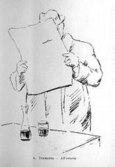 1950? ? All'osteria inchiostro (vidavittorio@gmail.com) Tags: diamante luigidiamante disegno osteria barche figura