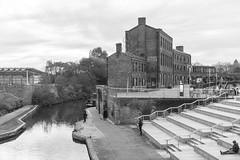 Regent's Canal (tommyajohansson) Tags: london kingscross granarysquare regentscanal november winter tommyajohansson geotagged monochrome blackandwhite svartvitt schwarzundweiss blancoynegro blancetnoir