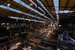 The last floor (Cyrille Gr) Tags: lavoirii lavoir decay usine charbon chavannes bourgogne urbex