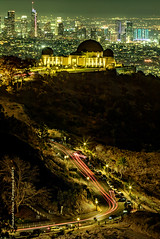 PV0_2566 (PrashantVerma) Tags: california griffith observatory night light city longexposure slowshutter landscape traffic downtown la losangeles prashantvermaphotography canon 5d