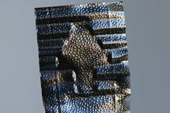 pull me up (Elisabeth patchwork) Tags: aluminium alufolie pull up macro structure pfeil pointer embossed sigma sigmasdquattro sigma105mm