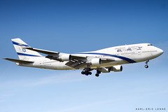 4X-ELB - El Al Boeing 747-400 | CDG (Karl-Eric Lenne) Tags: 4xelb roissy paris 747 boeing retired queen landing april 2019 el al 744
